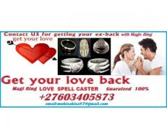 BEST MAGIC RING ALL SPELLS LOVE FAMILY MARRIAGE PROBLEMS PSYCHIC +27603405873 JOHANNESBURG