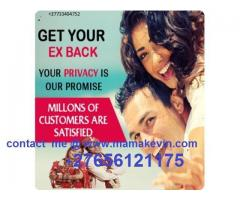 +27656121175 REUNITE WITH AN EX LOVER IN 24 HOURS/ POWERFUL LOST LOVE SPELLS CASTER