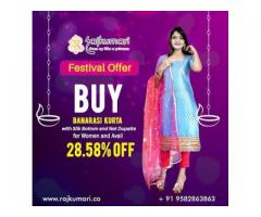 Diwali Discounted Offers on Buying Women's Clothing Online