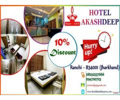 Quality food & facilities Hotel in Ranchi